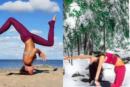 女性想要优美大长腿,这些瑜伽动作得掌握