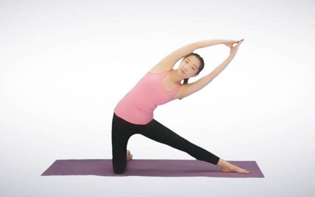 产后瑜伽减肥五式