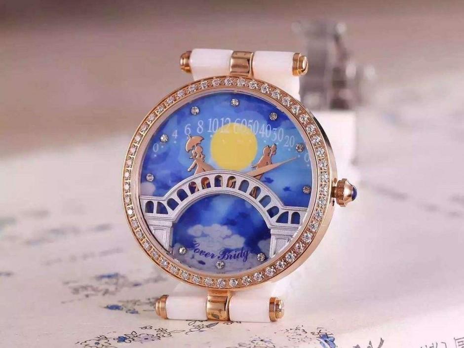 收藏界的顶级机械女士手表