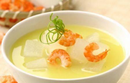 宝宝夏季必备——虾米冬瓜汤