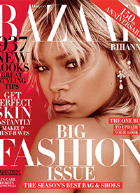 蕾哈娜登杂志封面 化身金发飞行员火力全开
