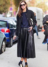 平底鞋怎么搭配?看欧美时尚达人的穿搭方法