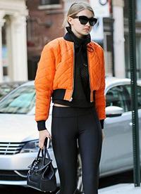 95后超模Gigi Hadid百变时尚街拍合集