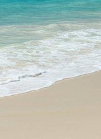 """沙滩海浪蓝天高清唯美图片"""""""