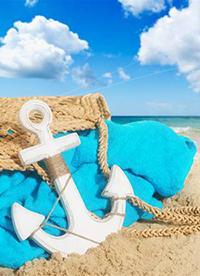 """高清唯美风景图片 夏日沙滩唯美唯俏"""""""