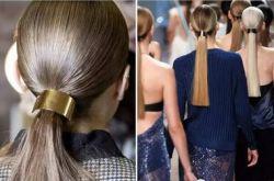 年会装扮小心机 试试今年最流行的金属发饰