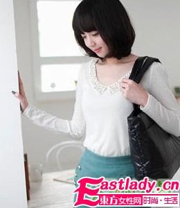韩式冬季时尚知性的可人发型
