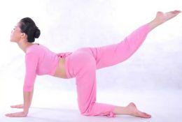 臀部不够美怎么办 五招瑜伽体式来帮你