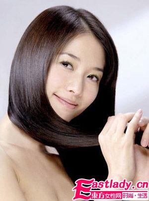 精油护发 芳香间的柔顺秀发