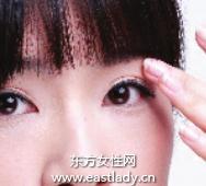 令双眼变得更大更明亮的眼妆画法