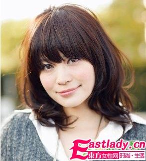 2011女生瘦脸的发型(图)