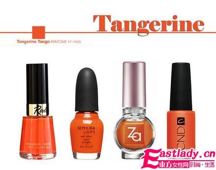 2012年最流行的指甲油颜色