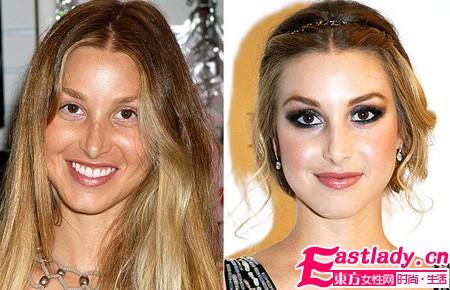 揭秘明星魔法化妆 谁是天生丽质