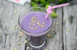 紫薯热饮的家常做法 黄豆与紫薯完美搭配