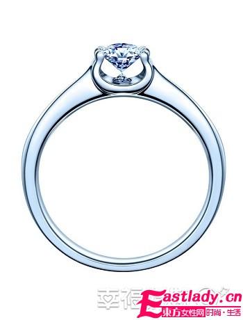 心灵之吻钻石婚戒 源自心底的触动