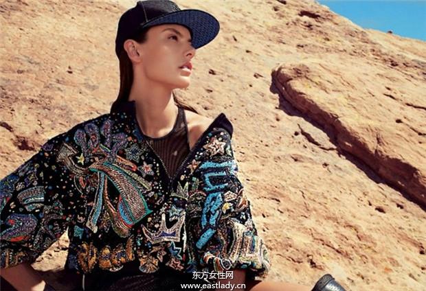 Alessandra Ambrosio《Flair》2014年5月意大利版