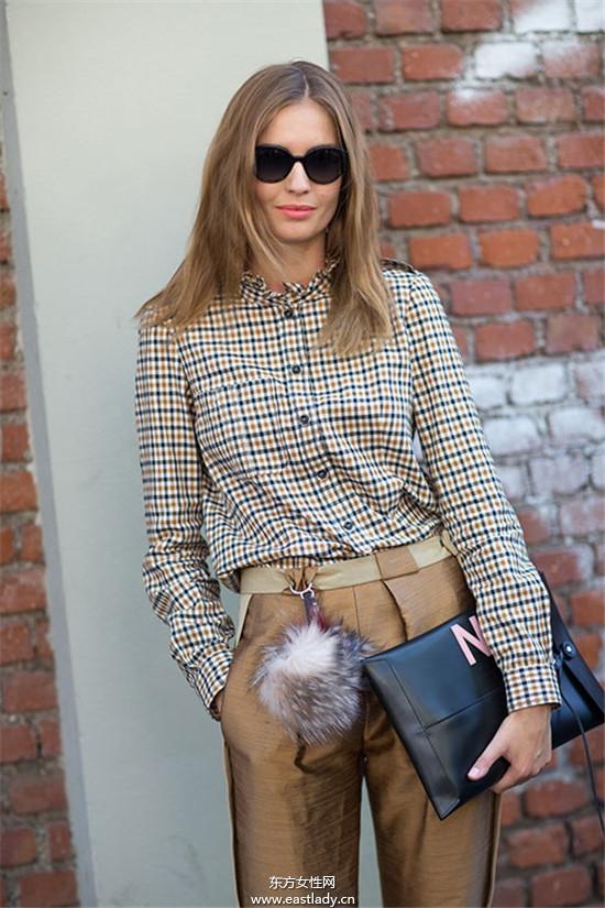 米兰时装周模特们引领时尚风潮