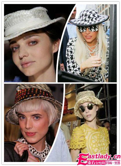 今夏欧美明星最具指标性的 帽子穿搭术