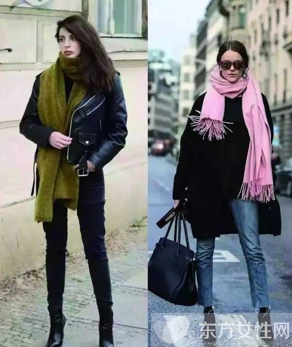 围巾搭配衣服技巧 教你提升气质的秘籍