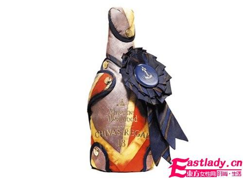 西太后转型设计酒瓶包装 专属Chivas的朋克外套