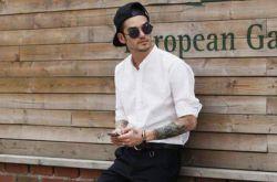 夏季时尚男装搭配技巧 白衬衫这么搭玩转英伦风
