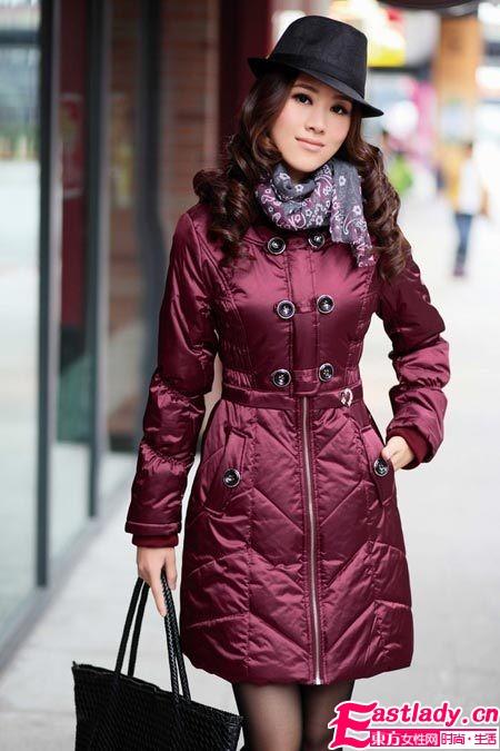 冬天 零负担  保暖修身大衣展现时尚摩登