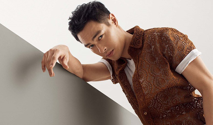 台湾演员杨佑宁肌肉写真 健硕身材男人味UP